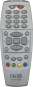 Replacement remote control for Dream DM500C