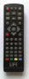 Replacement remote control for Digiquest DG3000PVR
