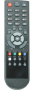 Replacement remote control for Opticum HD-X110P