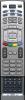 Erstatnings-fjernbetjening til  Targa DRV-5200X