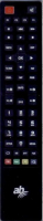 ABCOM CRYPTOBOX400HD Mando a distancia de repuesto