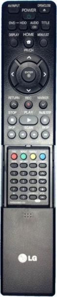 LG RCT689H Varakaukosäädin