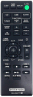 Replacement remote control for Sony CMT-SBT100