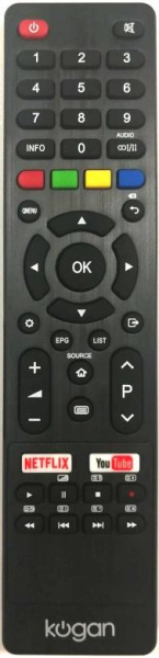 Replacement remote control for JVC RM-C3130