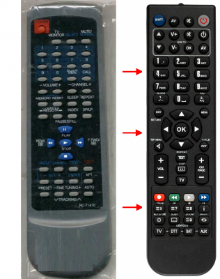 Replacement remote control for Aiwa 331G