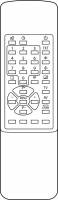 Pengendali jarak jauh pengganti untuk  A.R. System RC514