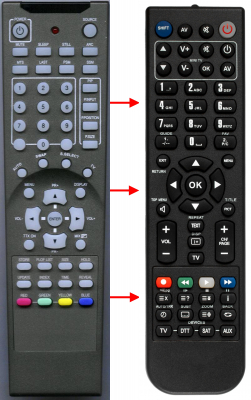 Replacement remote control for Belson 60-0046