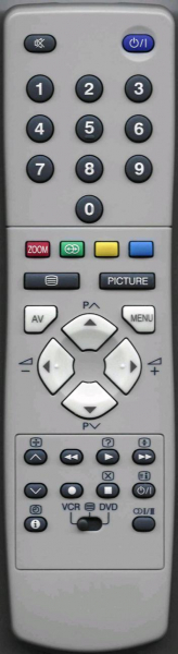 Replacement remote control for JVC 28WF1EI