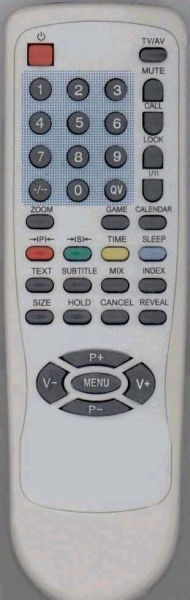 1ONE CRT15(2VERS.) Replacement remote control
