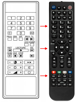 Replacement remote control for Thorn 01XO-042-984