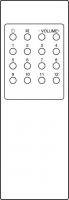 Náhradní dálkový ovladač pro Amstrad 142 2187