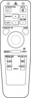 Controlo remoto de substituição para 3m MP7630
