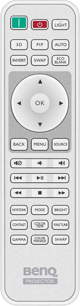 BENQ W1090 Replacement remote control