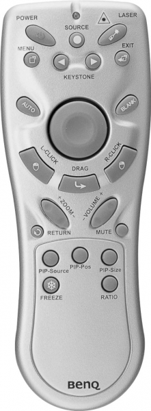 Replacement remote control for BenQ DS650