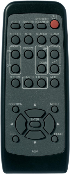 3M X30N Replacement remote control