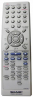 Replacement remote control for Sharp DV-RW270S(DVD+VCR)