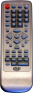 Replacement remote control for Digital DVX488