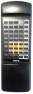 Replacement remote control for Yamaha AX890-HI FI