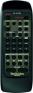 Replacement remote control for Technics SU-A900MK2
