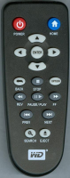 Replacement remote control for Western Digital WD LIVE TV PLUS