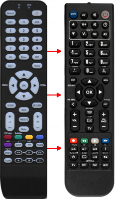 Replacement remote control for Thomson RC1994301