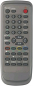 Replacement remote control for Classic IRC81082