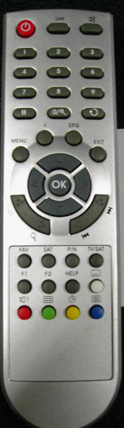 Replacement remote control for Abcom OPTICUM7000CR