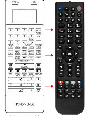 Replacement remote control for Thorn 102 346 40