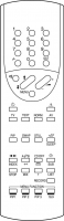 Náhradné diaľkové ovládanie pre 1one MINIMAX