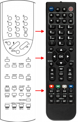 Replacement remote control for 1One MINIMAX
