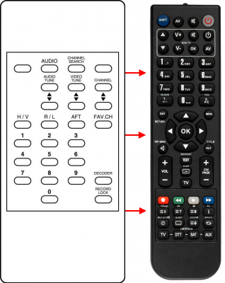 Replacement remote control for Zodiac ZS2500