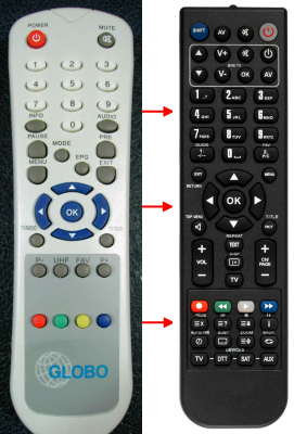 Replacement remote control for Zapp ZAPP669