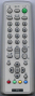Replacement remote control for Sony KV-14M1E
