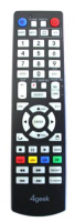 Replacement remote control for 4geek DMPR850