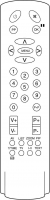 代わりのリモートコントロール Aiwa 2100