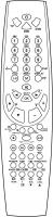 Ersättande fjärrkontroll till Vestel LCD2297W