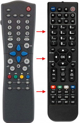 Replacement remote control for Ft LOR120RC28350