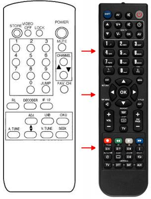 Replacement remote control for Zodiac ZR3000