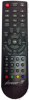Replacement remote control for Cahors TVT280HD