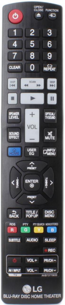 LG HB965TXW BLU-RAY Télécommande de remplacement