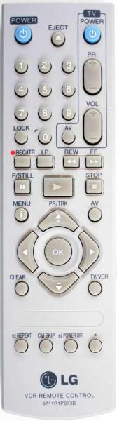 LG 6711R1P073B Helyettesítő távirányító