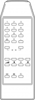 LG 105-042A Pengendali Jarak Jauh Pengganti