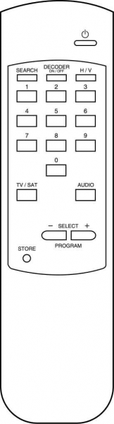 Replacement remote control for Classic IRC IRC83022