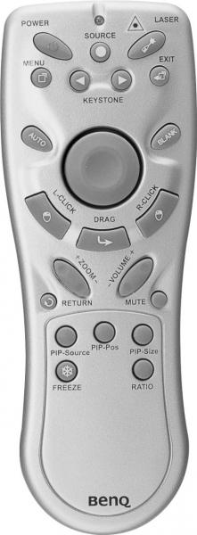 BENQ DS650 代わりのリモートコントロール