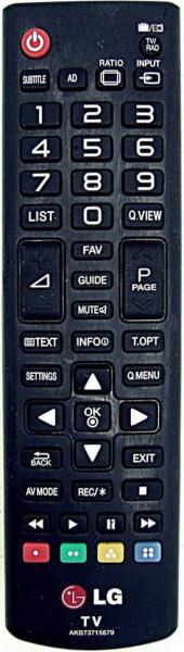 LG 42LA667S Alat kawalan jauh gantian