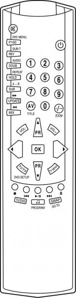 CLASSIC IRC81535 Alat kawalan jauh gantian