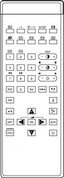 CLASSIC IRC81455 Alat kawalan jauh gantian