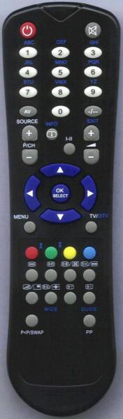 Alat kawalan jauh gantian untuk Classic IRC81582