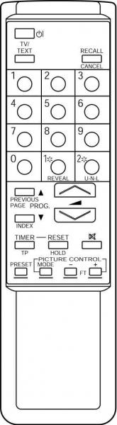 CLASSIC IRC81046 Alat kawalan jauh gantian