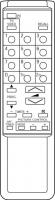 CLASSIC IRC81150 Alat kawalan jauh gantian